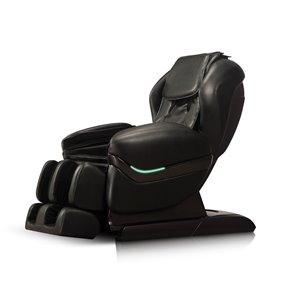 Fauteuil de massage iComfort IC3800, similicuir, noir