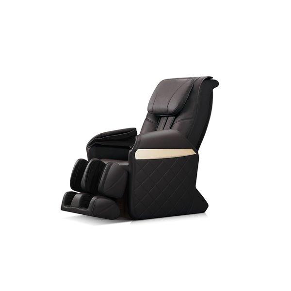 Fauteuil de massage iComfort IC6600, similicuir, noir