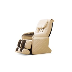 Fauteuil de massage iComfort IC6600, similicuir, beige