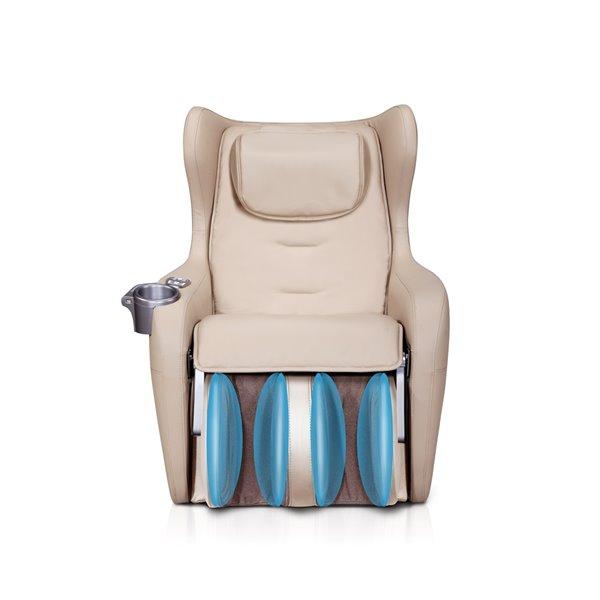 Fauteuil de massage iComfort IC2000, similicuir, noir