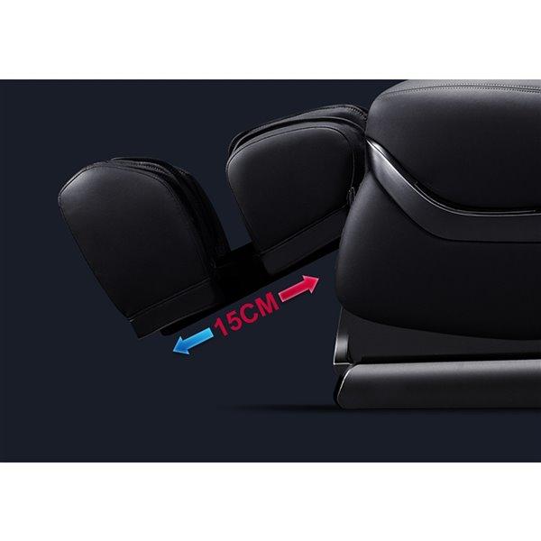 Fauteuil de massage iComfort IC3800, similicuir, beige