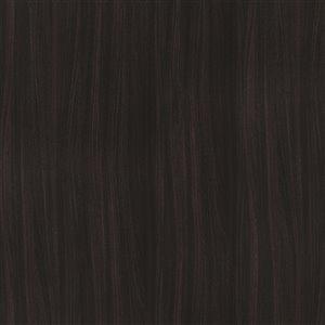 Accessoire de finition pour marche et contremarche Bélanger Laminés, couleur café noir