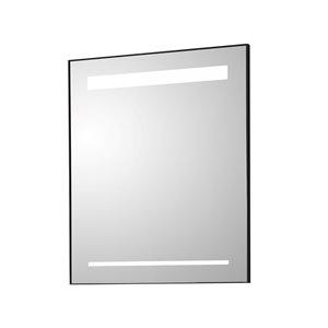 Miroir mural DEL sans cadre pour salle de bain de la collection Sage de GEF, 30 po