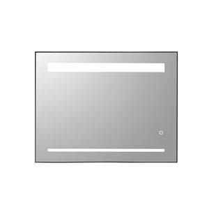 Miroir mural DEL sans cadre pour salle de bain de la collection Sage de GEF, 36 po