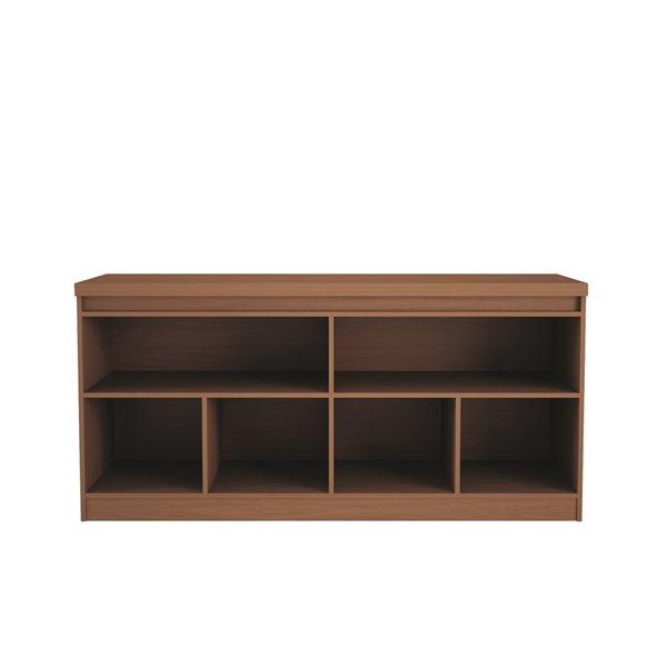 Manhattan Comfort Viennese 6-Shelf Buffet Cabinet - 62.99-in x 28.14-in - Maple Cream