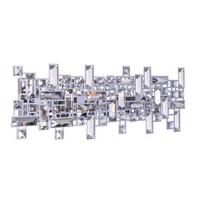 CWI Lighting Arley Vanity Light - 6-Light - 24-in - Chrome