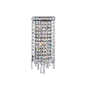 CWI Lighting Colosseum Wall Sconce - 4-Light - 5-in - Chrome