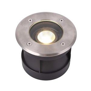 VONN Lighting Outdoor Well Light - LED - 6-in - Stainless Steel