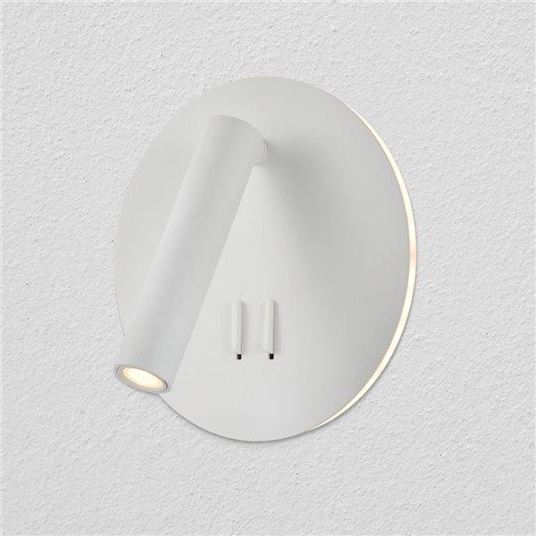 Applique murale Tania de VONN Lighting, 6,75 po, blanc