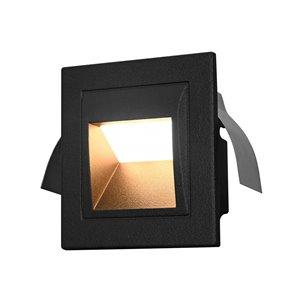 VONN Lighting Outdoor Step Light - LED - 3.5-in - Black