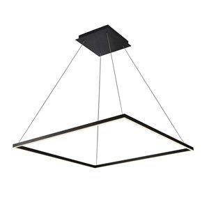 Lustre Atria VONN Lighting, lumière DEL, 39,5 po, noir