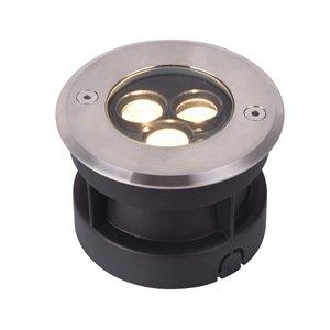 VONN Lighting Outdoor Well Light - LED - 4-in - Stainless Steel