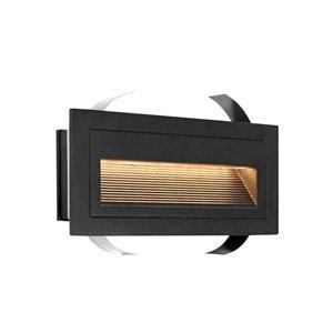 VONN Lighting Outdoor Step Light - LED - 8-in - Black