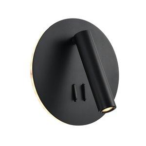VONN Lighting Tania Wall Sconce - LED - 6.75-in - Black