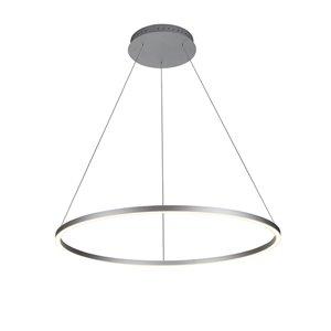 Lustre Tania VONN Lighting, lumière DEL, 39,25 po, argent