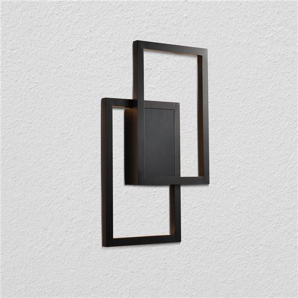 Applique murale Radium de VONN Lighting, 11,75 po, noir