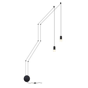 Luminaire suspendu Expression VONN Lighting, DEL, 9,75 po, noir