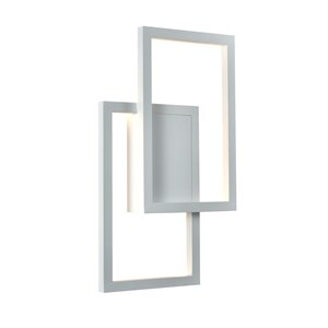 Applique murale Radium de VONN Lighting, 11,75 po, blanc