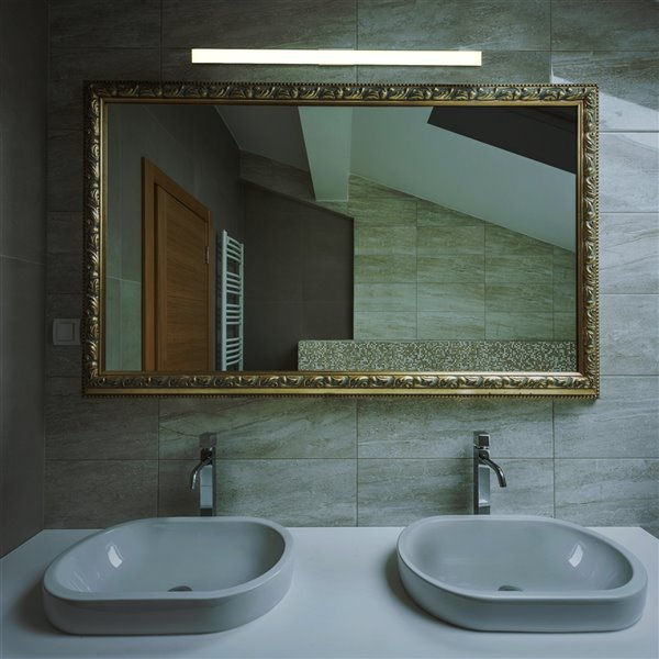 VONN Lighting Procyon Vanity Light - LED - 36-in x 2.25-in - Silver