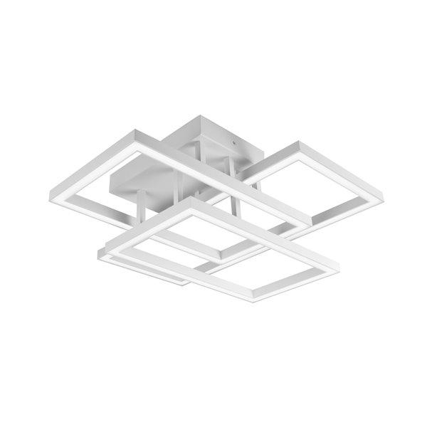 Plafonnier Radium VONN Lighting, DEL, 28 po, blanc