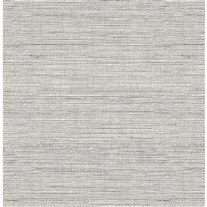 Scott Living Artisan Weave Self-Adhesive Wallpaper - 20.5-in x 18-ft - Light Grey