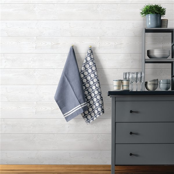 Scott Living Urban Self-Adhesive Wallpaper - 20.5-in x 18-ft - White