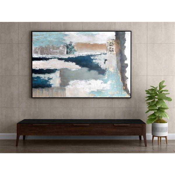 """Toile murale Gild Design House """"Euphorie"""", 49 po x 73 po"""