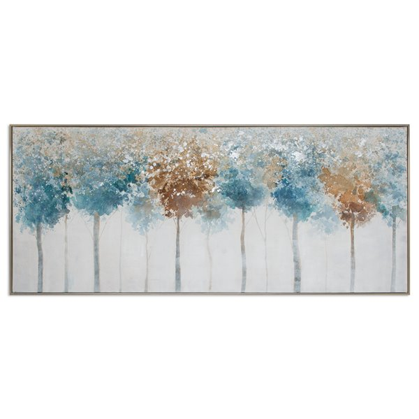 "Toile murale Gild Design House ""Changer les saisons"", 73 po x 2 po x 31 po"