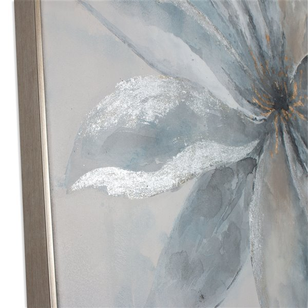 "Toile murale Gild Design House ""Fleur rayonnante"", 40 po x 40 po"