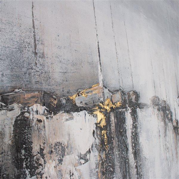 """Toile murale Gild Design House """"Brise feutrée"""", 73 po x 2 po x 49 po"""