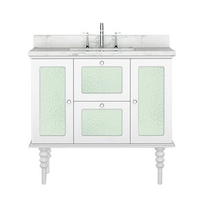 Bano Design Elyse Collection Vanity - 36-in - White