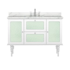 Bano Design Elyse Collection Vanity - 48-in - White
