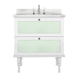 Bano Design Elyse Collection Vanity - 23-in - White