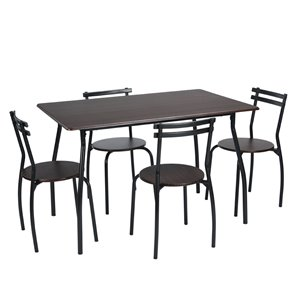 FurnitureR 5 Piece Dining Set