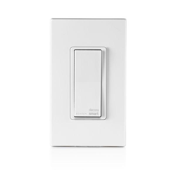 Warmly Yours Hardwired WiFi Switch - White