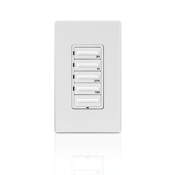 Warmly Yours Hardwired 4-Setting Countdown Timer - White