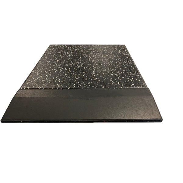 RubberMax Ramp - 19.75-in x 5.75-in - 1.25 sq ft - Black