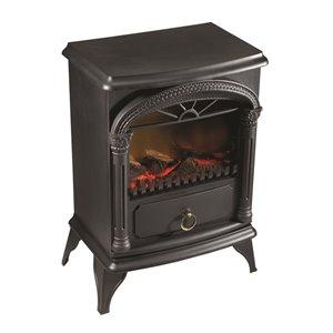 Paramount Vernon Electric Fireplace Stove - Tabletop - 4606 BTU - Black