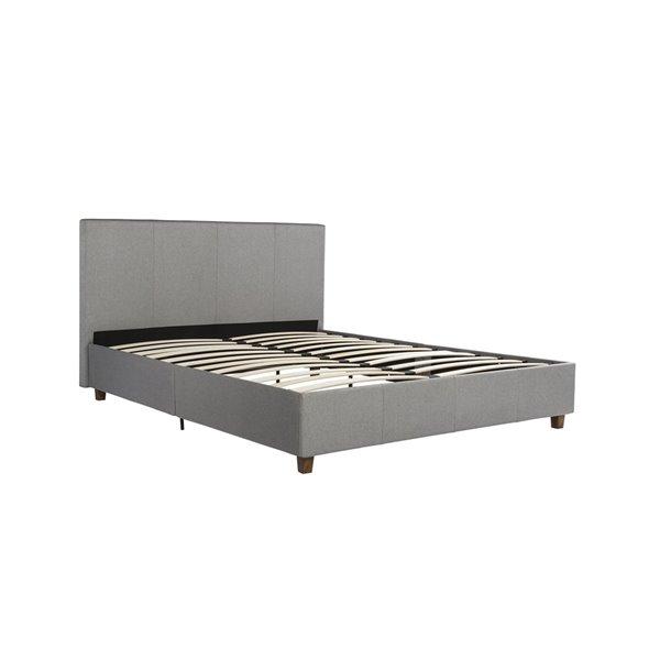 DHP Metal Twin Carriage Bed - Twin - 78.5-in x 42.5-in x 88-in - Pink/Purple