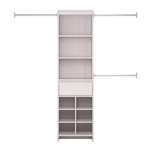 Ameriwood Adult Closet Organizer - 15.7-in x 76.6-in - Vinta