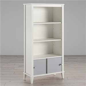 Little Seeds Monarch Hill Poppy Kids' Bookcase - 27.44-in x 54.92-in - Gray