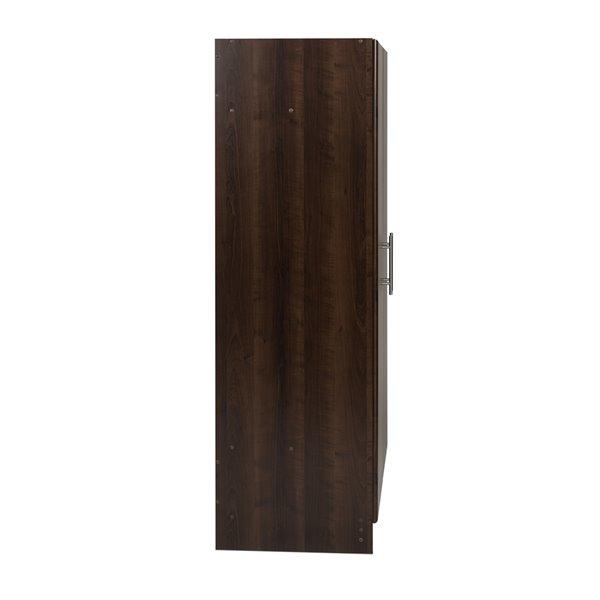 Prepac Elite Wardrobe Cabinet in Espresso Finish - 32-in