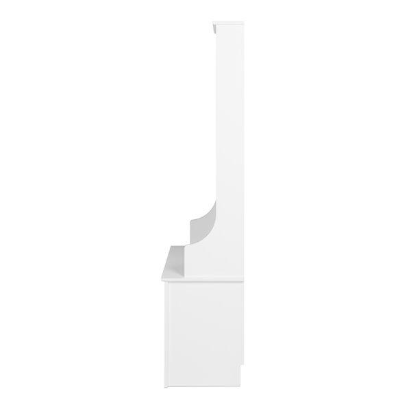 Meuble portemanteau Prepac étroit à rangement pour chaussures, 68 po x 27 po x 15.5 po