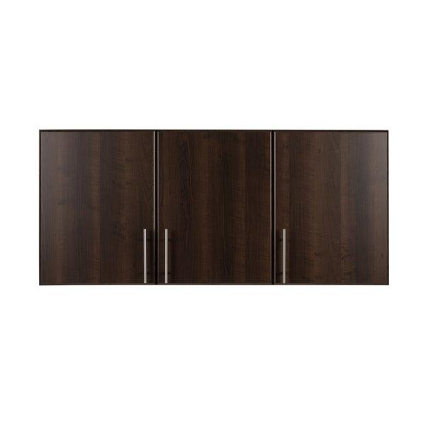 Prepac Elite Wall Cabinet in Espresso Finish - 54-in