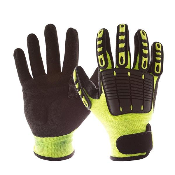 IMPACTO Back Tracker Anti-Impact Gloves - Small - Green