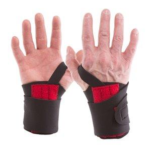 Support de poignet en neoprene de IMPACTO, x-large, noir