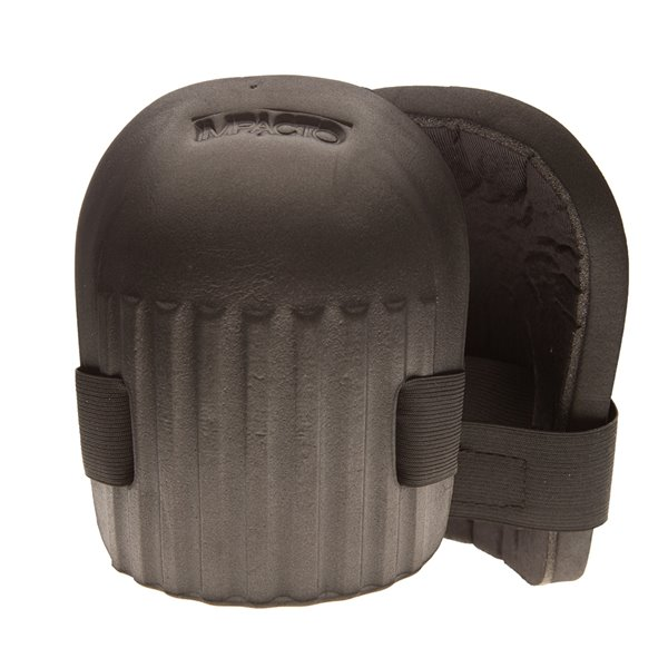 IMPACTO Knee Pad - Molded Foam - Black