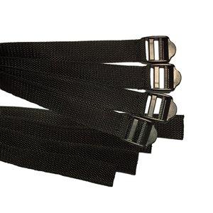 IMPACTO Straps for Metguard - Black
