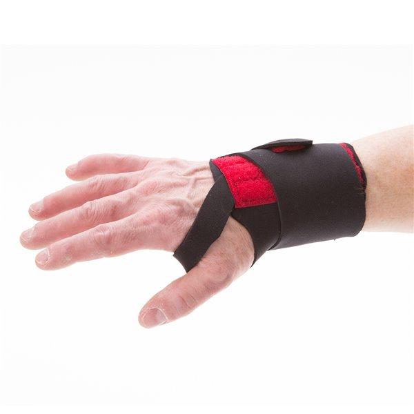 IMPACTO Neoprene Wrist Support - Large - Black