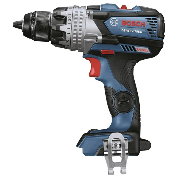 Bosch Brushless Connected-Ready Brute Tough Drill/Driver - 1/2-in - 18 V